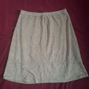 Liz Claiborne Camel Colored Skirt